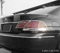 BMW 7 Series E65 05-09 High Quality Taillight Chrome Trim Surround MGC-B010