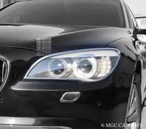 BMW 7 Series F01 09-Up High Quality Headlight Chrome Trim Surround MGC-B011