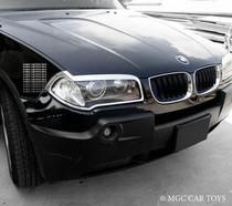 BMW X3 E83 03-10 High Quality Headlight Chrome Trim Surround MGC-B013
