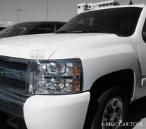 Chevrolet Silverado 07-Up High Quality Headlight Chrome Trim Surround MGC-C012