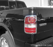 Ford F-150 04-08 High Quality Taillight Chrome Trim Surround MGC-F002