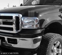 Ford SUper Duty 05-07 High Quality Headlight Chrome Trim Surround MGC-F003