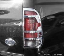 Ford SUper Duty 05-07 High Quality Taillight Chrome Trim Surround MGC-F004