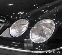 Mercedes Benz CL W215 99-Up High Quality Headlight Chrome Trim Surround MGC-M034