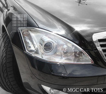 Mercedes Benz S Class W221 05-Up High Quality Headlight Chrome Trim Surround MGC-M040