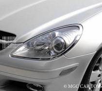 Mercedes Benz SLK R171 04-11 High Quality Headlight Chrome Trim Surround MGC-M041