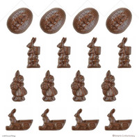 4.5 cm Easter Shapes  - 106