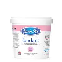 1kg Satin Ice RTR Fondant - Baby Pink Vanilla
