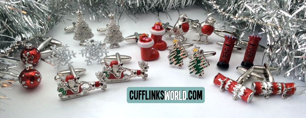 What a wonderful time of the year Christmas is! Get into the festive feeling with our Christmas cufflinks!