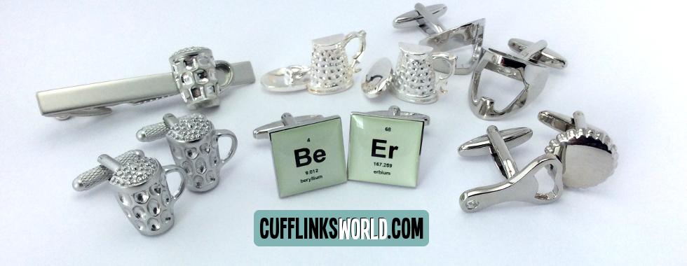 Bring some festive cheer with cufflinks from Cufflinks World!