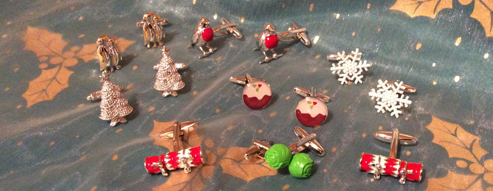 All you could want for Christmas from CufflinksWorld.com