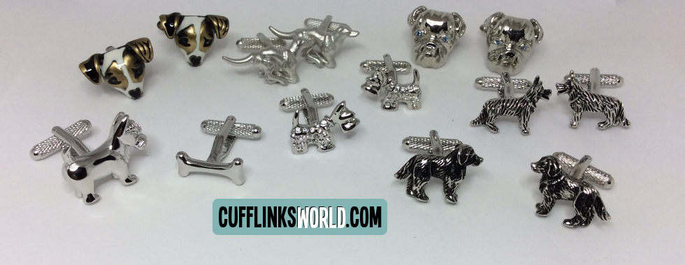 Share your love of your faithful four pawed friend with cufflinksworld!