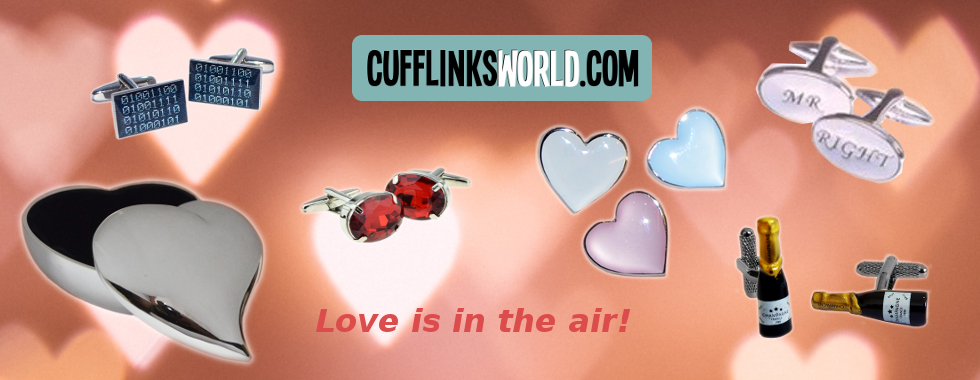 Choose a special gift for the one you love from cufflinksworld.com