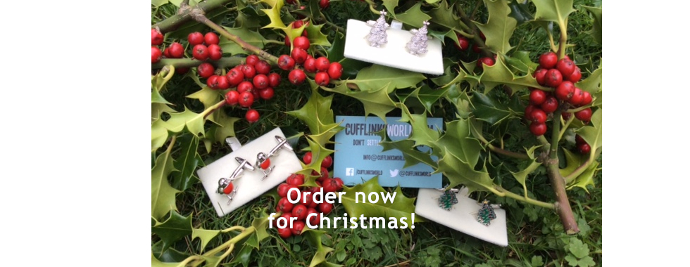 Order from our massive range of cufflinks and accessories for a perfect Christmas