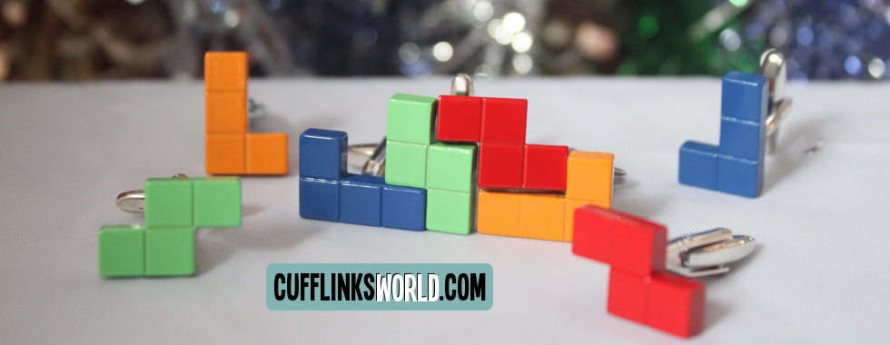 Don't be puzzled - get a fabulous selection of fun cufflinks from Cufflinks World!
