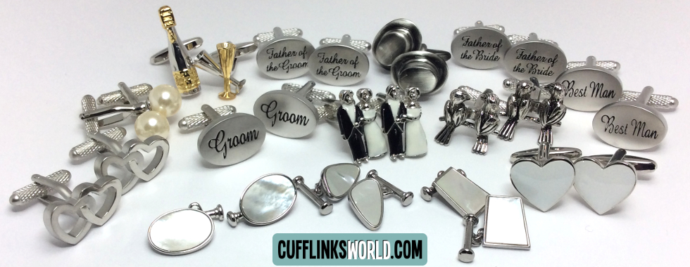 Cufflinks for your wedding. Whatever your theme or style, Cufflinks World has Cufflinks for you