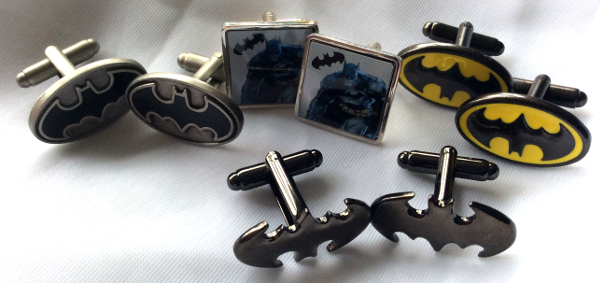 Brilliant Batman Cufflinks from Cufflinks World Ltd