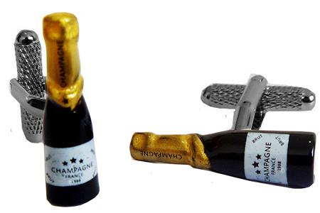Champagne Bottle Style Cufflinks