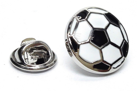 Football Lapel Pin Badge