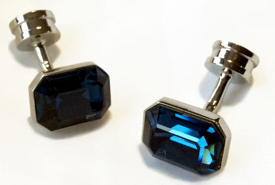 Montana Blue Crystal Element Cufflinks