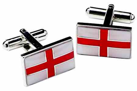 St Georges' Cross Cufflinks