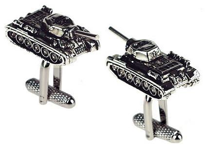 Military Tank Cufflinks