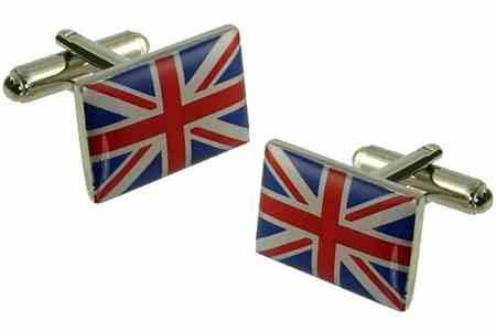 Union Jack Flag Cufflinks