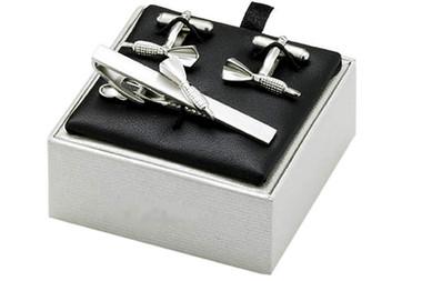 Darts Cufflinks gift set