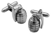 Grenade Novelty Cufflinks