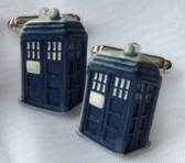 Dr Who Tardis Licensed cufflinks