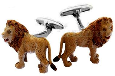 Lions Animal cufflinks