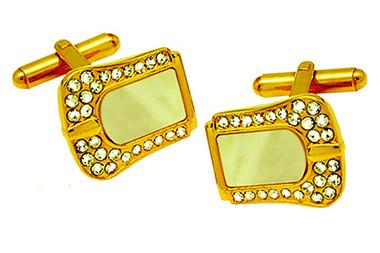 Luxury designer cufflinks