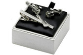 Guitar cufflinks gift set