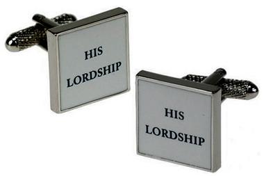 His Lordship cufflinks