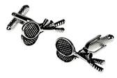 Badminton Rackets cufflinks