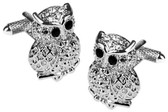Owl animal cufflinks