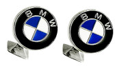 BMW silver plated cufflinks