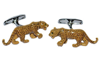 Animal Leopards cufflinks