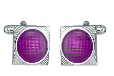Duncan Walton Designer cat's eye cufflinks