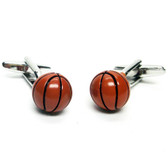 Basket Ball Cufflinks