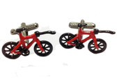 Love cycling... love our red cycle cufflinks!