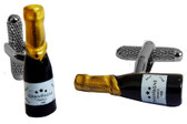 Celebrate anything and everything with Champagne Bottle Style Cufflinks
