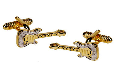 Guitar Music Cufflinks