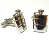 Hip Flask style cufflinks