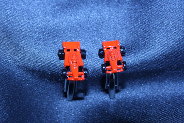 Fast and Furious: Red Red Racing Car Cufflinks