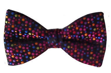 Silk bow tie for men