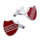 Genius Crest Cufflinks