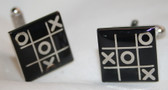 Noughts and Crosses / Tic-Tac-Toe cufflinks