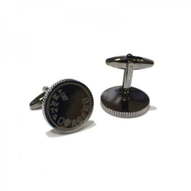 Focus on style with these camera mode dial cufflinks