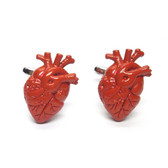 Anatomical Red Heart Cufflinks